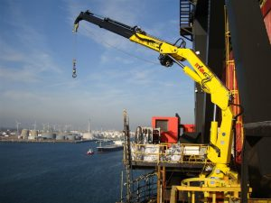 Troubleshooting of Provision Deck Crane