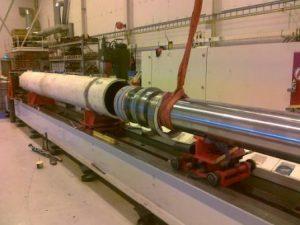 Ship Crane Hydraulic Cylinder Repair part 2