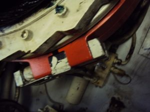 Adjustments of crane brake bands