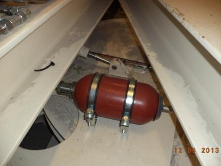 Maintenance of accumulator