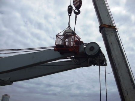 Top jib repair