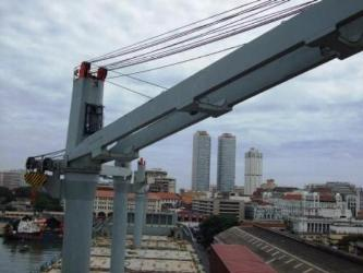 Repair Crane Jib